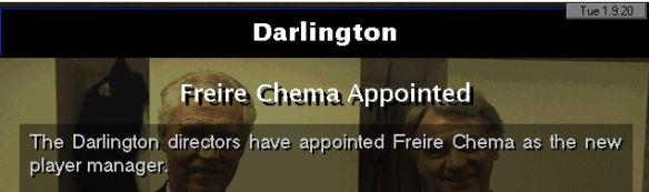 darlo appoint chema