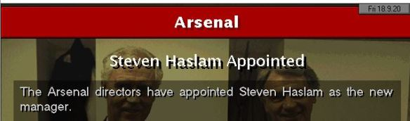 haslam to arsenal