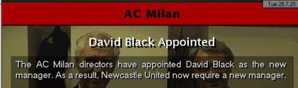 milan appoint me