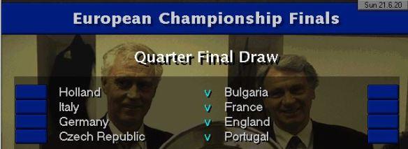 QF draw