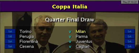 coppa QF draw