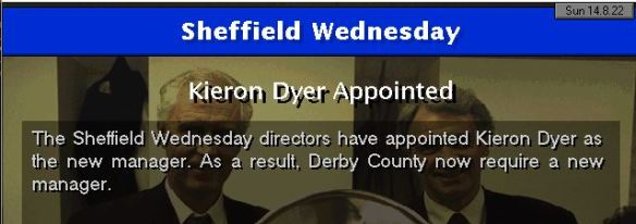 dyer to sheff wed