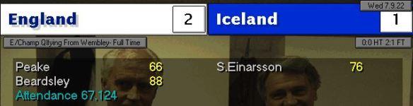 england 2 - 1 iceland
