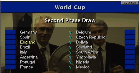 Last 16 vs Bolivia