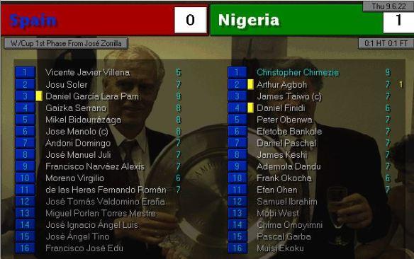 spain 0 - 1 nigeria