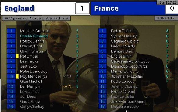 World Cup final 22