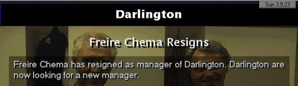 Chema resigns