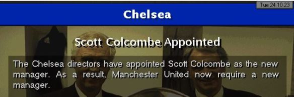 colcombe to chelsea