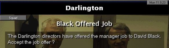 Darlo job offer