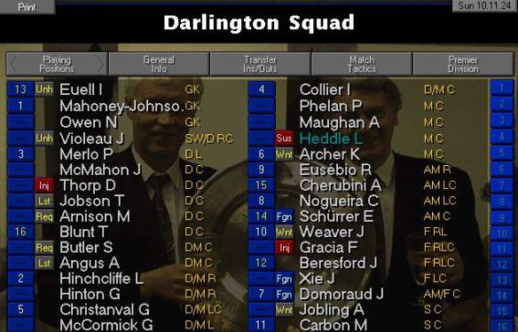 darlo squad nov 24