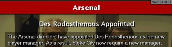 des to arsenal