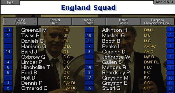 england squad 24