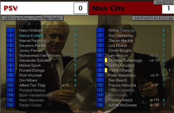 UEFA Cup QF City