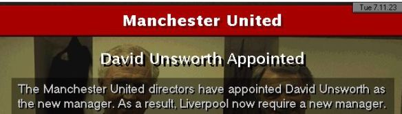 unsworth to man utd