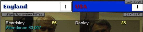 USA 1-1