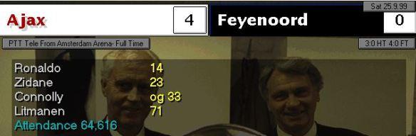 Ajax 4 - 0 Feyenoord
