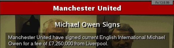 Owen to Man Utd