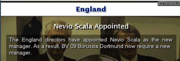 England appoint Scala