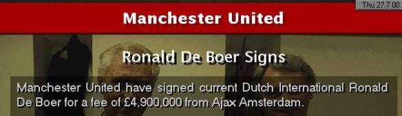 RDB to Man Utd