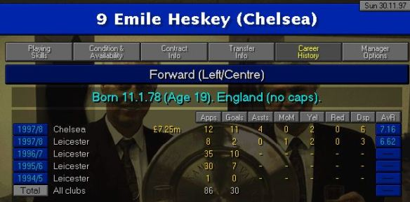 heskey form