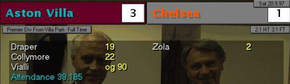 3-1 chelsea
