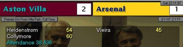Arsenal 2-1