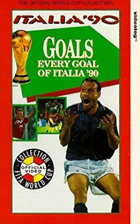 every goal of italia 90