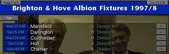 remaning fixtures