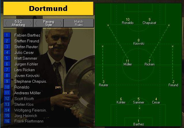Dortmund lineup