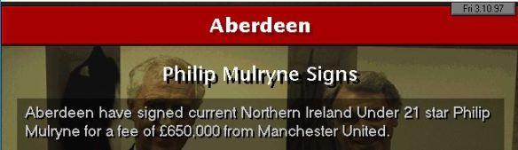 Mulryne signs