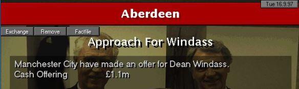 Offer for Windass