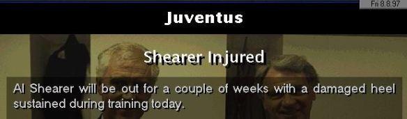 Shearer injured