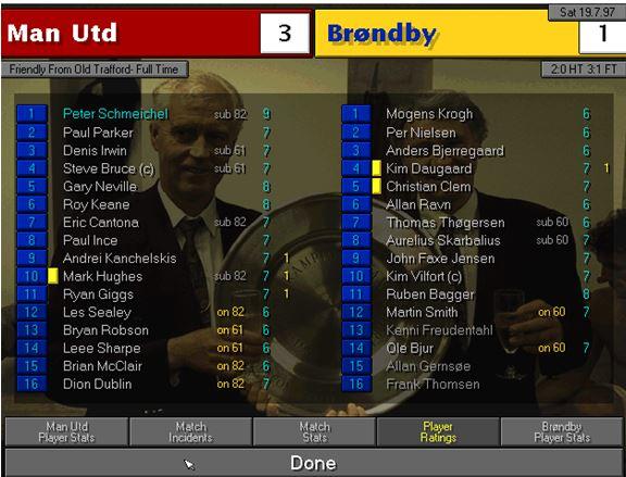 Brondby friendly