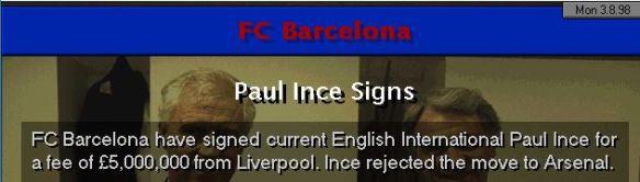 Ince to Barcelona