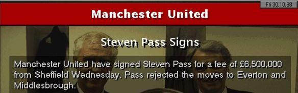 S Pass Man Utd