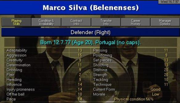 13 Marco SIlva