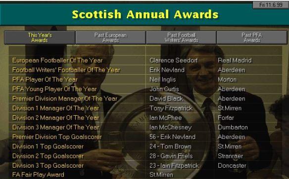 Awards 99