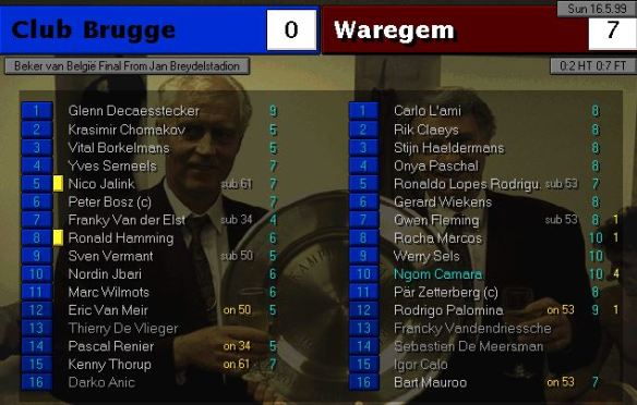 Belgian cup finak
