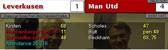 Leverkusen 4-1