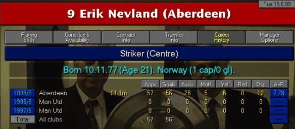 Nev record 99