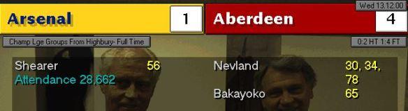 4-1 Arsenal