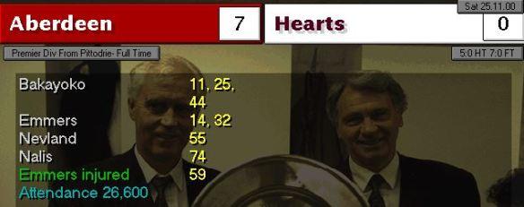 7-0 Hearts