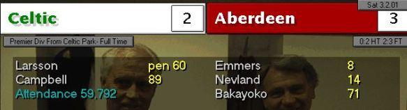 Celtic 3-2