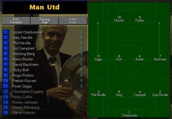 MUFC team