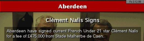 Nalis to Aberdeen