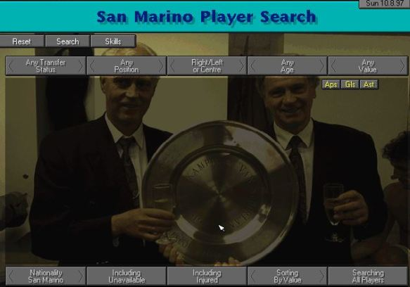 san marino no players