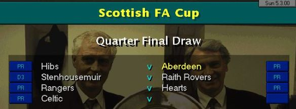 Scottish Cup QF Draw