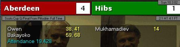 4-1 hibs cup