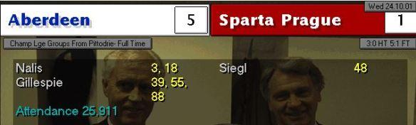 5-1 sparta prague