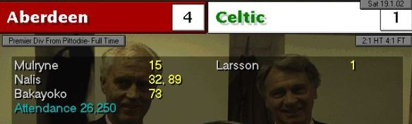 aberdeen 4 - 1 celtic S5